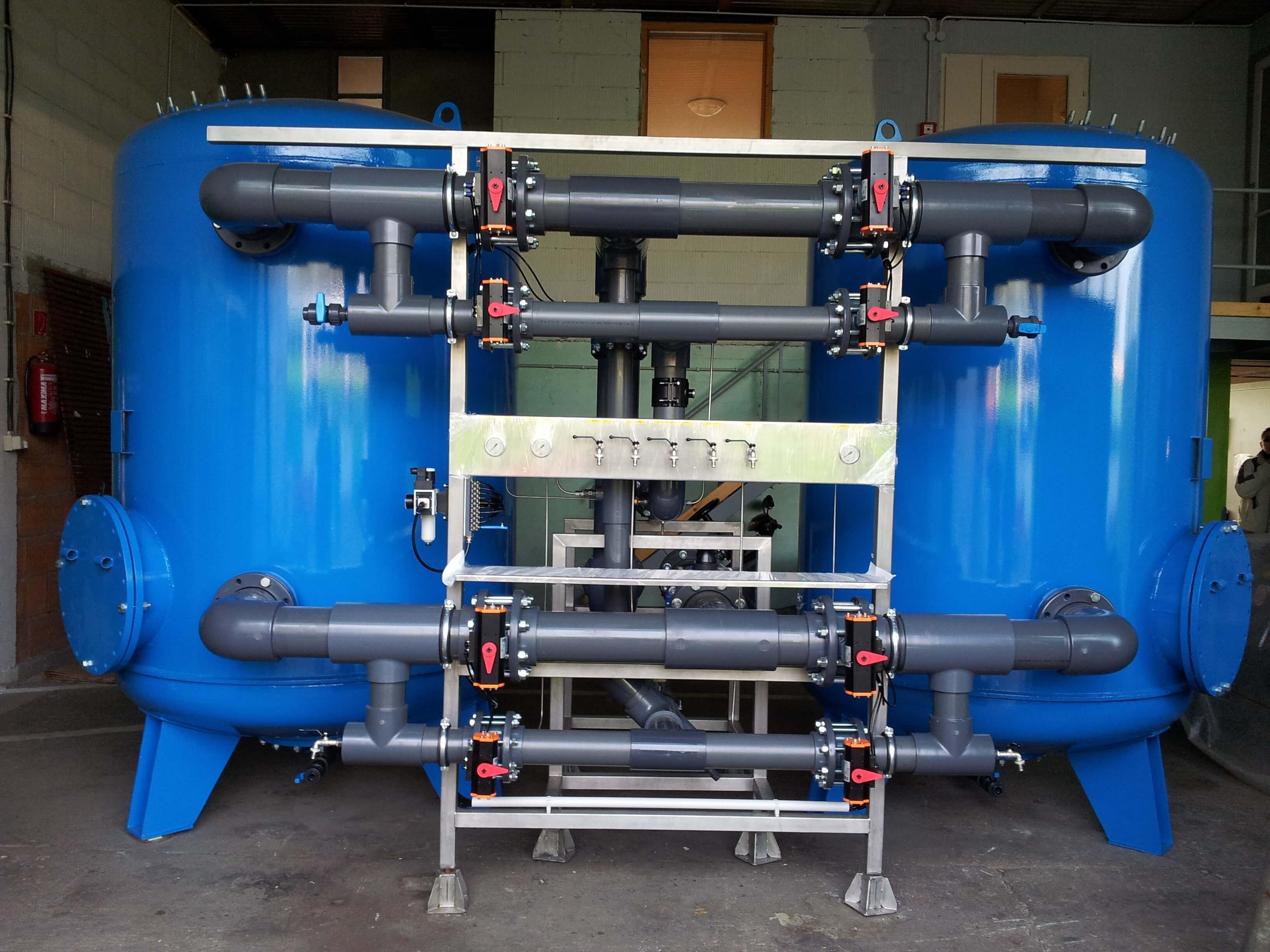 Mobil vízkezelő berendezés